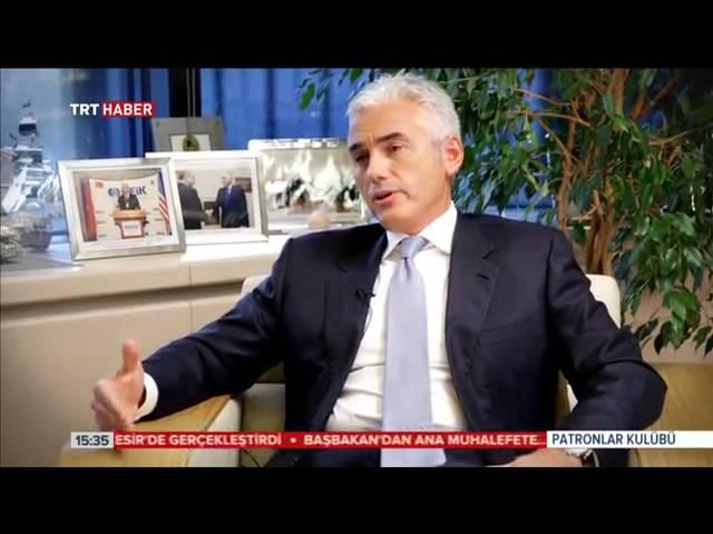 """TÜSİAD Yönetim Kurulu Başkanı Haluk Dinçer – TRT Haber – """"Patronlar Kulübü"""" Programı – 30 Kasım 2014"""