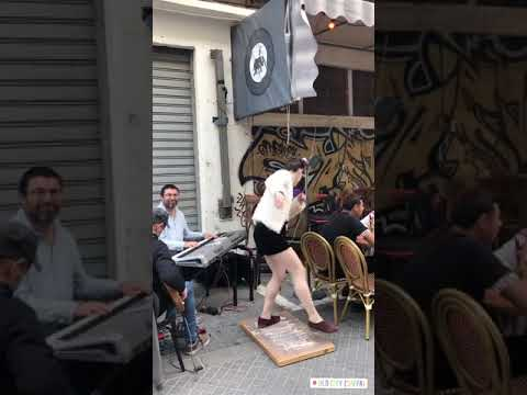 Η Κωνσταντίνα Σπυροπούλου στο Τελ Αβίβ