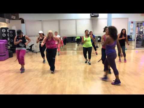 Bajo la Tormenta.   Zumba® with Diana Albujar.  Choreography by Diana Albujar.