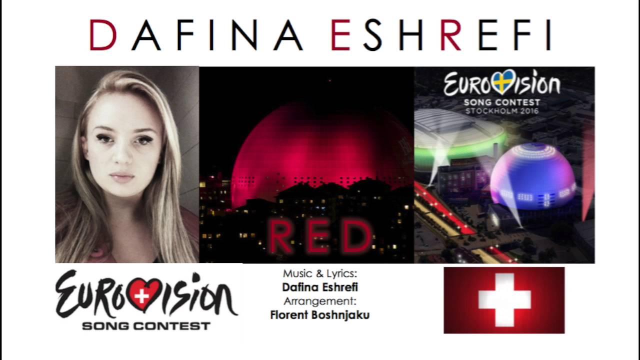 Download Eurovision 2016 Switzerland / Dafina Eshrefi - RED
