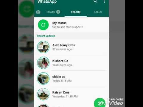 Whatsapp Status Update Problem