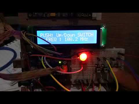ARDUINO PLL FM TX To Control TC9122