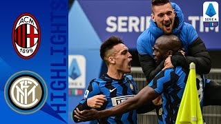 Milan 0 3 Inter Inter Go Four Points Clear with HUGE Derby Win Serie A TIM