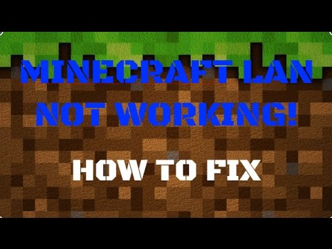 HOW TO FIX MINECRAFT LAN NOT WORKING Windows YouTube - Minecraft lan spielen mit einem account