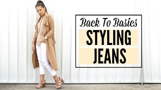 How to Style Jeans Lookbook | Steal The Spotlight