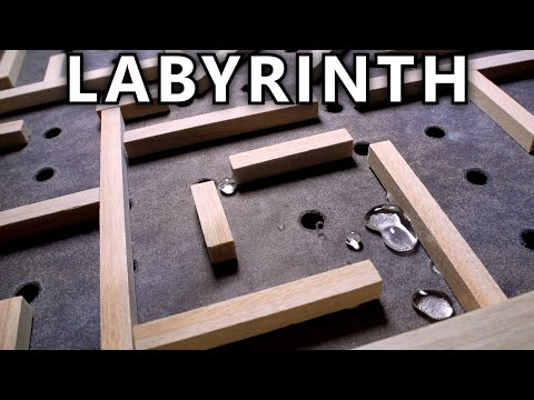 How To Make A Super-Hydrophobic Labyrinth Game
