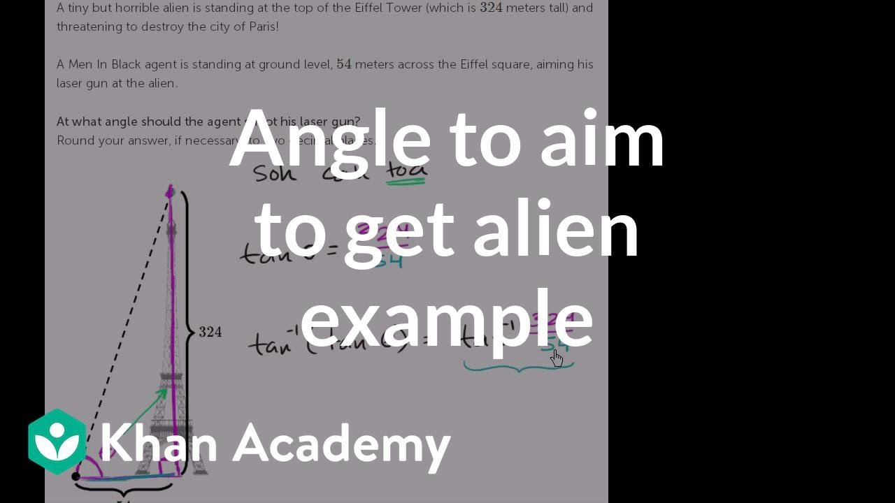 Right triangle word problem (video)   Khan Academy [ 720 x 1280 Pixel ]