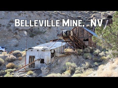 Ghost Towns & Mines: Belleville Mine, NV 2018