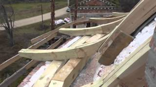 Ремонт купола храма(Детальное видео ремонта купола Церкви Благовещения Пресвятой Богородицы в с. Апухтино тверской области...., 2013-11-01T16:37:20.000Z)