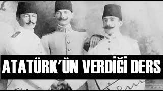 Atatürk'ü Hırpalayan Komutana Atatürk'ün Tepkisi