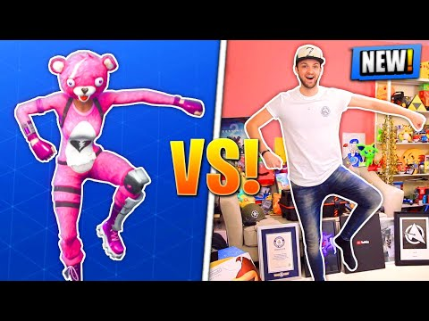 *NEW* Fortnite DANCES - REAL LIFE CHALLENGE!