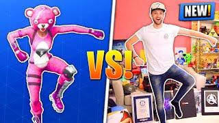 'NEW' Fortnite DANCES - REAL LIFE CHALLENGE!