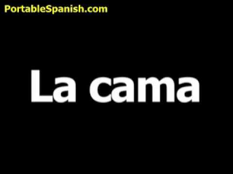 How to say make bed in spanish