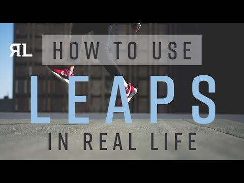 How to use LEAPS in Real Life.