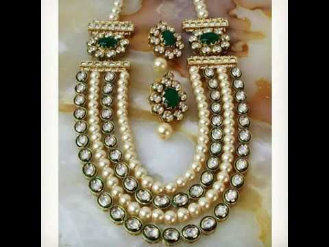 Latest bridal jewelry collection , bridal jewelry designs, polki jewelry