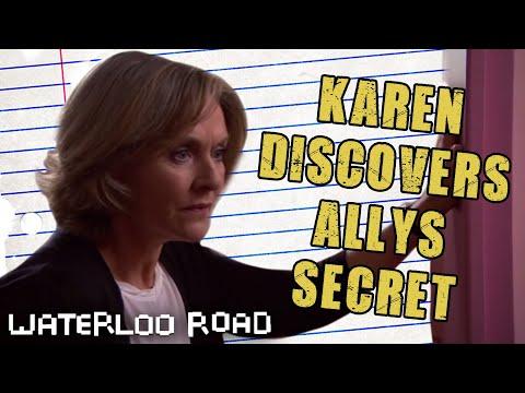 Karen Discovers Ally's Secret: Waterloo Road
