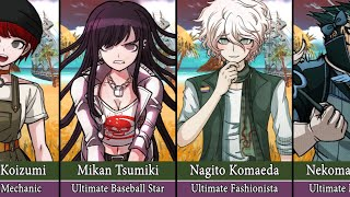 Danganronpa Сharacters but They All Have Different Talents