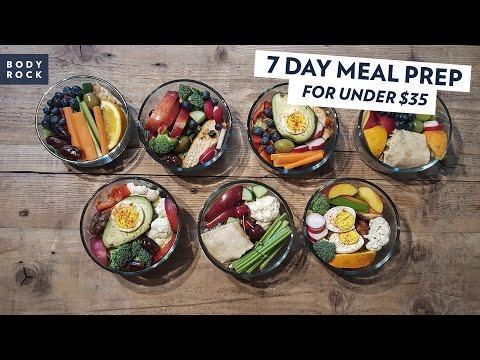 BodyRock  7 Day Lunch for Under $35