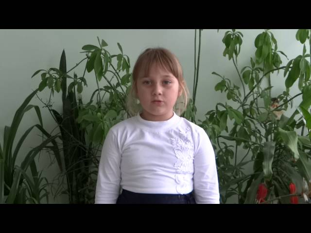 Елизавета Родионова читает произведение «Полевые цветы» (Бунин Иван Алексеевич)
