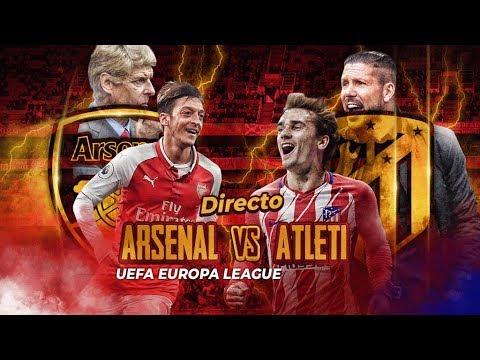 Arsenal vs Atlético de Madrid en directo | UEFA Europa League | 26.4.2018