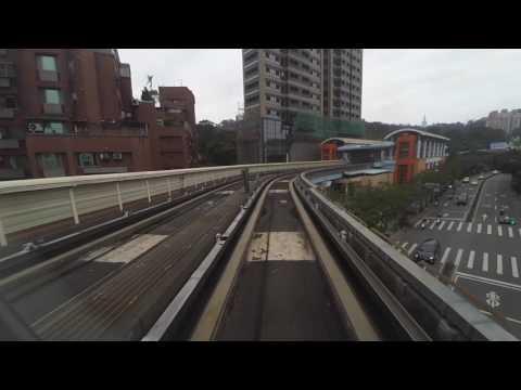 台北捷运文湖线车头展望 Outlook of Taipei MRT Wenhu Line