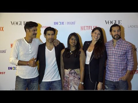 Bollywood Celebs At Red Carpet Premiere Of Documentary Film 'Ladies First'