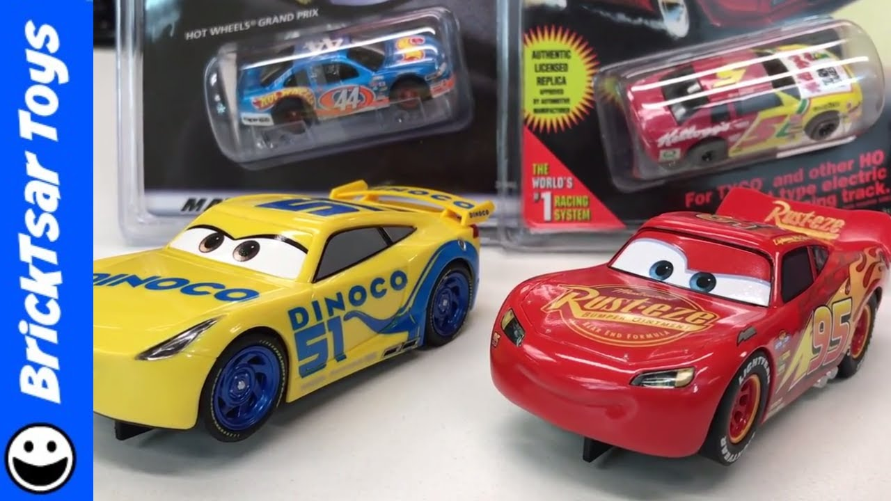 new slot cars and old slot cars disney cars 3 carrera and. Black Bedroom Furniture Sets. Home Design Ideas