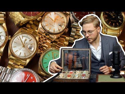 Dit is de meest BIZARRE Rolex Day-Date collectie die je OOIT hebt gezien