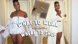 WHAT TO WEAR & WEAR TO SHO…