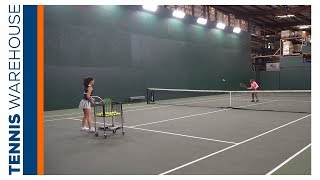 Swinging Volley + Volley Tennis Drill with Vicky Duval
