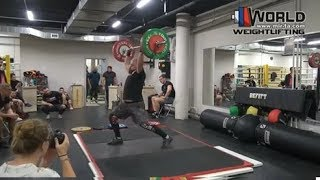 28.04.2019 (Mens.C+Jerk) Moscow. Competitions clubs Base and Befitt.