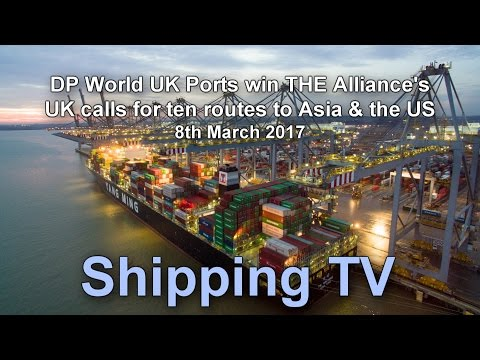 DP World tie up all ten UK port calls from The Alliance: