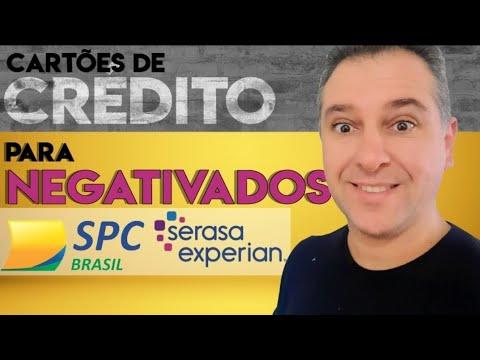 ? CARTÕES DE CRÉDITO PARA NEGATIVADOS NO SPC/SERASA, MEU PAG E SANTANDER, estes parcelam. Video 2