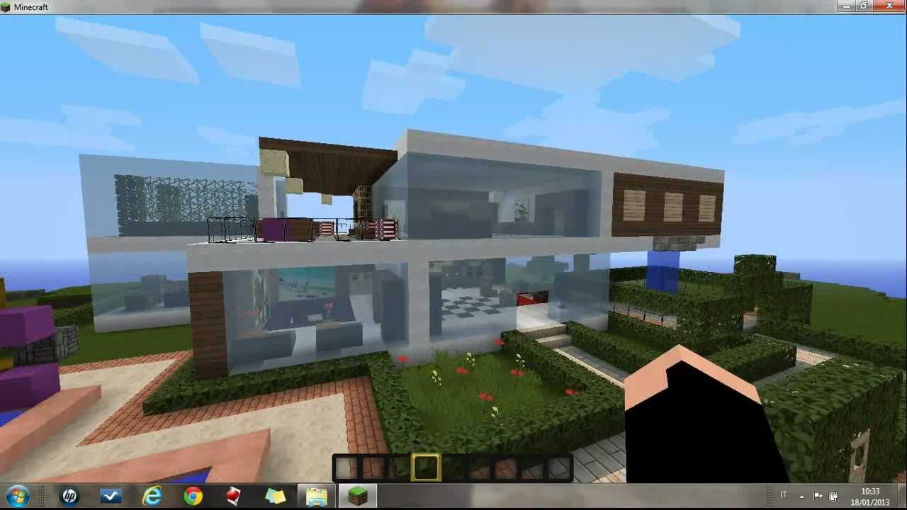Case Moderne Minecraft : Vanilla game minecraft