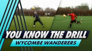 'David Platt' Over the Shoulder Drill | You Know The Drill - Wycombe Wanderers with Gareth Ainsworth