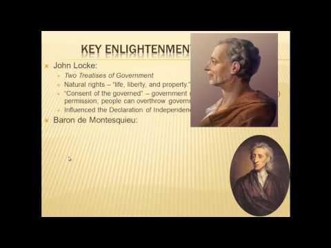 comparing john locke and baron de montesquieu