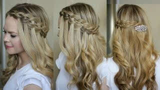 Four Strand Waterfall Braid | Missy Sue