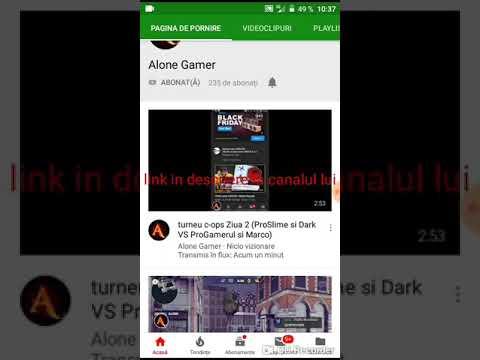 Promovare alone gamer link in descriere aboneazate