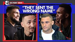 """Holloway On Poirier """"They Sent The Wrong Name"""" & Gastelum Sees Weakness In Israel"""