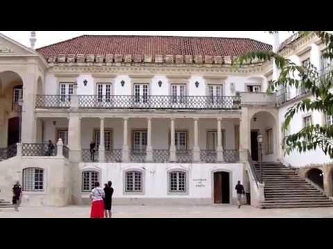 Coimbra University courtyard, Coimbra Portugal - LVBO Travel Videos
