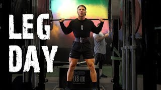 The PERFECT LEG Workout || To Build Strength & Power