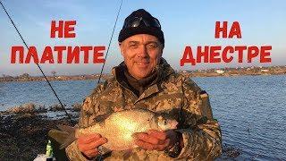 Не платите на Днестре / Рыбалка в конце ноября. Маяки.