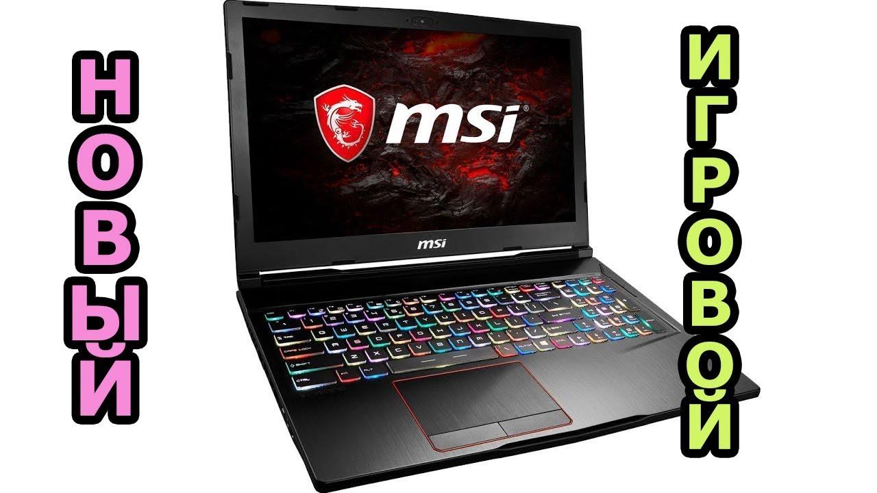 Обзор ноутбука MSI GS30 2M-010RU (Shadow) с игровой док-станцией .