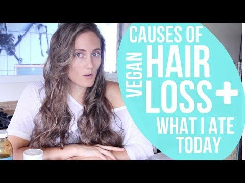Hair-Loss on a Vegan Diet? + My Meals for Healthy Hair