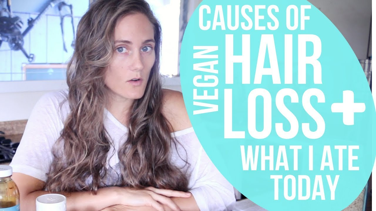 Hair Loss AND Period Loss on a HCLF VEGAN diet?? - YouTube