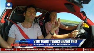 Barcelona Open In Focus As Sharapova Enjoys Ride With Webber |Sports This Morning|