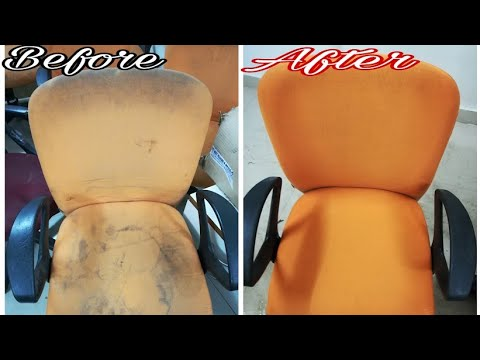 Office Chairs Cleaning in 5min | How to clean chair at home