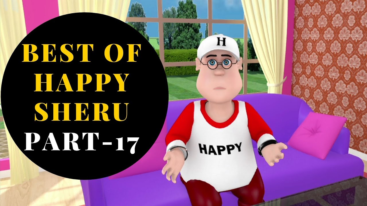 Download Best Of Happy Sheru || Part-17 || Funny Cartoon Animation || MH ONE