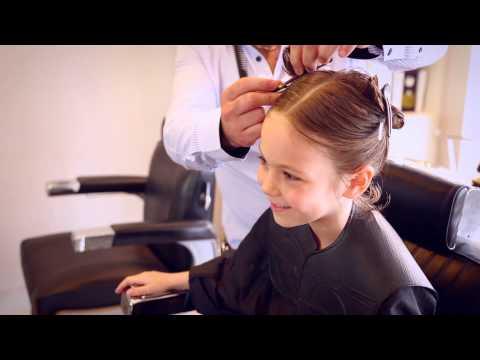 Katie Hair Cut for The Little Princess Trust