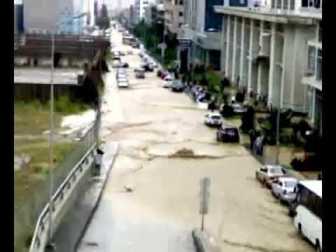 Yağmur Balgat Ankara sel Baskını